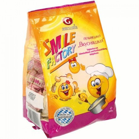 detail Pelmeně Smile Factory 500g