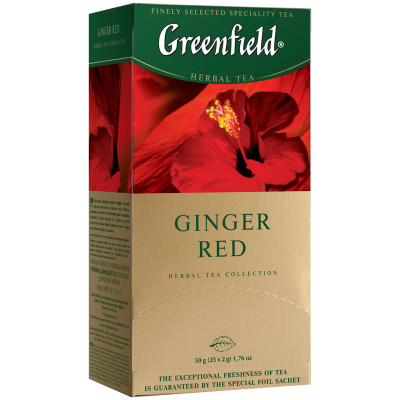 Herbal Ginger Red Greenfield 25*2g