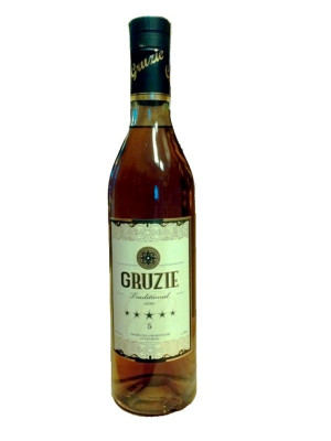 Brandy Gruzie 5* 0,5L Produced in Georgia